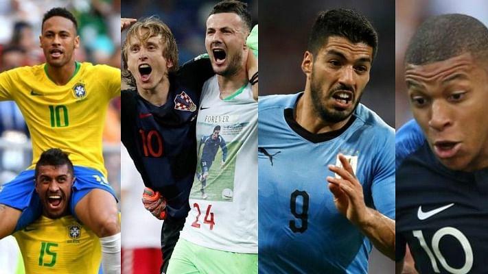 फीफा विश्व कप: आज से क्वार्टर फाइनल शुरू, ब्राजील के सामने बेल्जियम तो फ्रांस को उरुग्वे की चुनौती