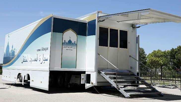 2020 के ओलंपिक खेलों में भाग लेने वाले मुस्लिम खिलाड़ियों और पर्यटकों के लिए जापान ने बनाई मोबाइल मस्जिदें