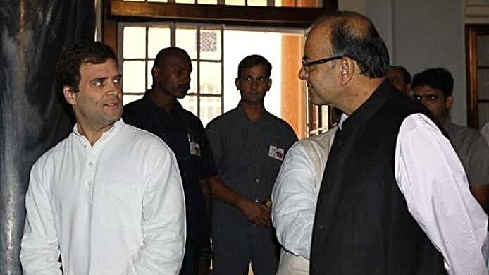 राफेल सौदे पर राहुल गांधी की जेटली को चुनौती: 'सुप्रीम लीडर से पूछकर 24 घंटे में कर लें जेपीसी जांच का फैसला'