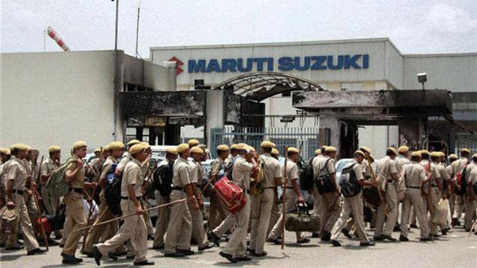 मारुति सुजुकी के मजदूरों  ने की जेल में बंद अपने पुराने साथियों के परिवारवालों की आर्थिक मदद