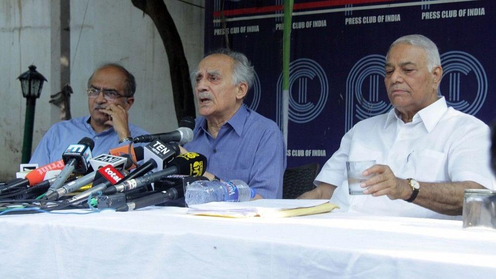 अरुण शौरी और यशवंत सिन्हा का दावा, राफेल घोटाले में मोदी व्यक्तिगत रूप से शामिल