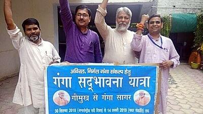 गंगा, गाय, गांव और गरीब के नाम पर सत्ता में आई सरकार 'जुमलों' में सिमटी : राजेंद्र सिंह