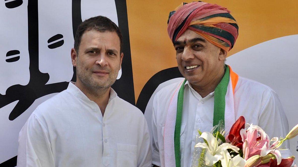 राजस्थान विधानसभा चुनाव से ठीक पहले बीजेपी को बड़ा झटका, जसवंत सिंह के बेटे मानवेंद्र सिंह कांग्रेस में शामिल