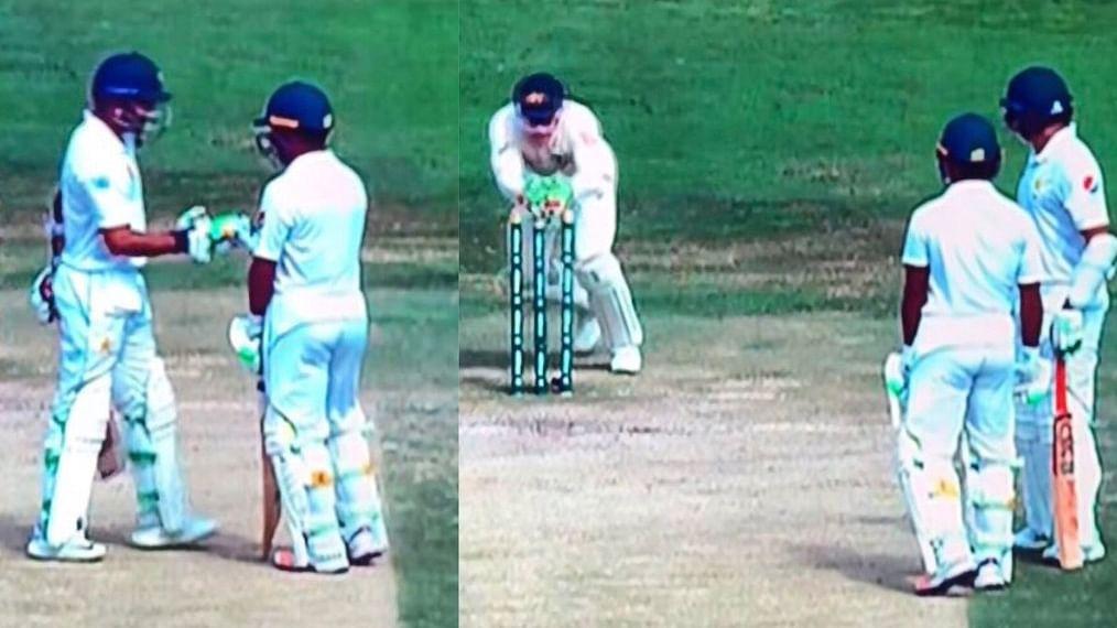 वीडियो: टेस्ट मैच में पाकिस्तानी बल्लेबाज का रन आउट कर देगा लोटपोट,  ऑस्ट्रेलिया के खिलाफ अजीबो-गरीब हुए शिकार