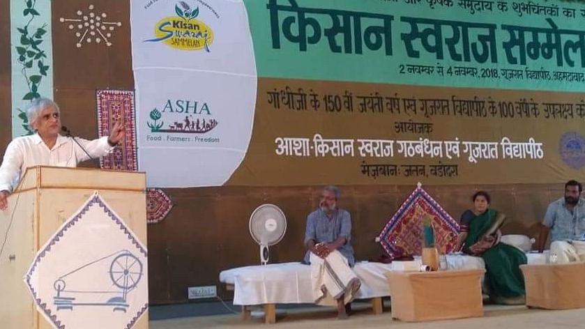 मोदी सरकार की फसल बीमा योजना राफेल से भी बड़ा घोटाला: पी. साईनाथ