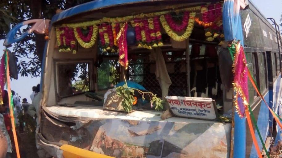 मध्य प्रदेश: सतना में भीषण सड़क  हादसा, 6 बच्चों और ड्राइवर  की मौत, पीएम, राहुल और  शिवराज ने जताया दुख