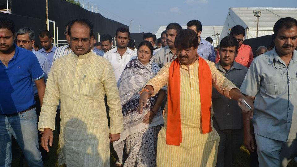 मध्य प्रदेश: बीजेपी में टिकट को लेकर कलह, विजयवर्गीय के बेटे, गौर की बहू को मिला टिकट, महाजन के बेटे को नहीं