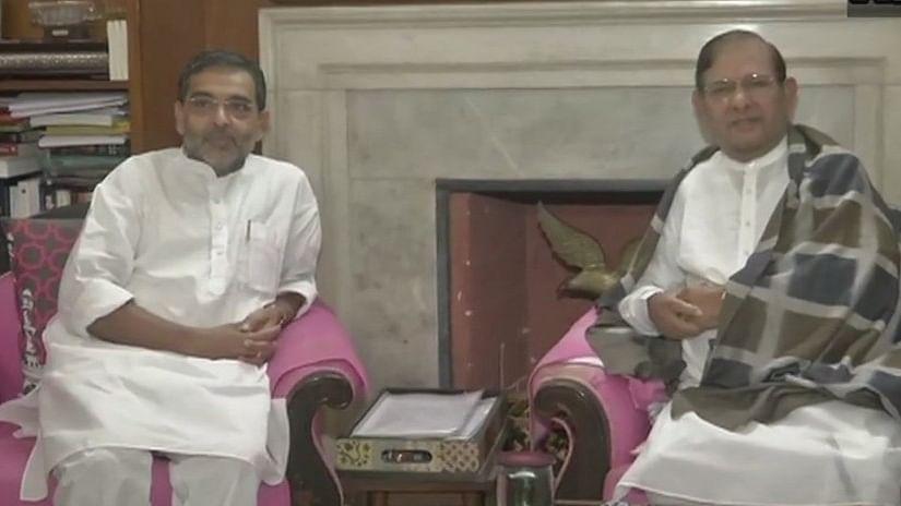 बिहार: एनडीए में फूट, शरद यादव से मुलाकात के बाद बोले उपेंद्र कुशवाहा- मेरे विधायकों को तोड़ने में जुटे नीतीश