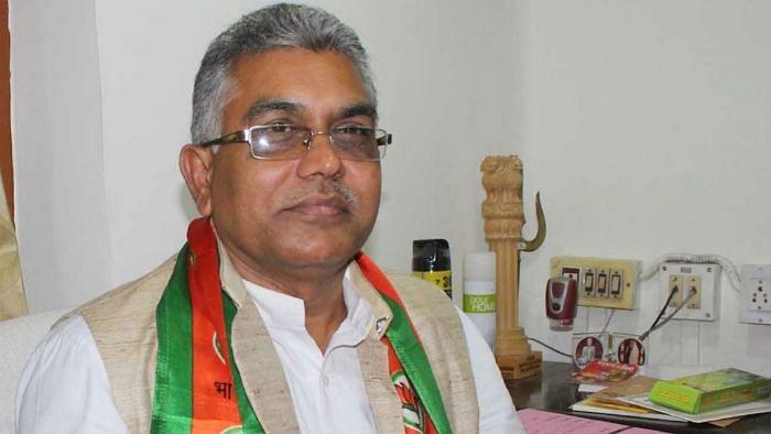 पश्चिम बंगालः बीजेपी अध्यक्ष  की धमकी, 'पुलिस वाले वर्दी पहनने के लायक नहीं, सत्ता में आने पर ठीक कर देंगे'