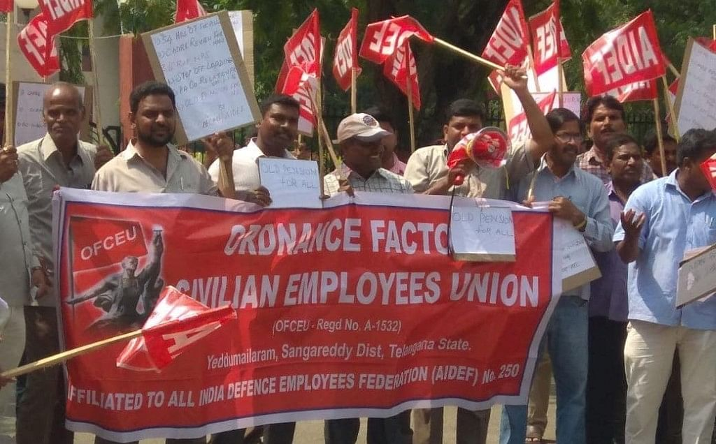 किसानों के बाद अब डिफेंस कर्मचारी करेंगे मोदी सरकार की नीतियों के खिलाफ आंदोलन
