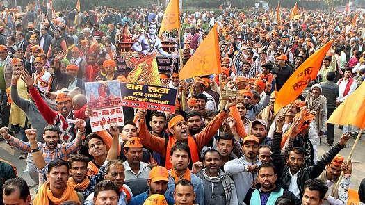 विष्णु नागर का व्यंग्यः 'राग राम जन्मभूमि' जिसे चुनाव पूर्व छेड़ा जाता है और वोट पड़ते ही समाप्त कर दिया जाता है