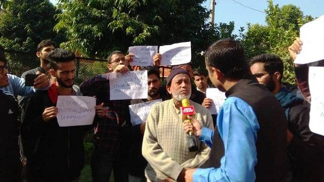 जम्मू: प्रोफेसर की 'लिंचिंग' कराने की मीडिया की कोशिशें  नाकाम, भगत सिंह पर लेक्चर के बाद शुरु हुआ था बवाल