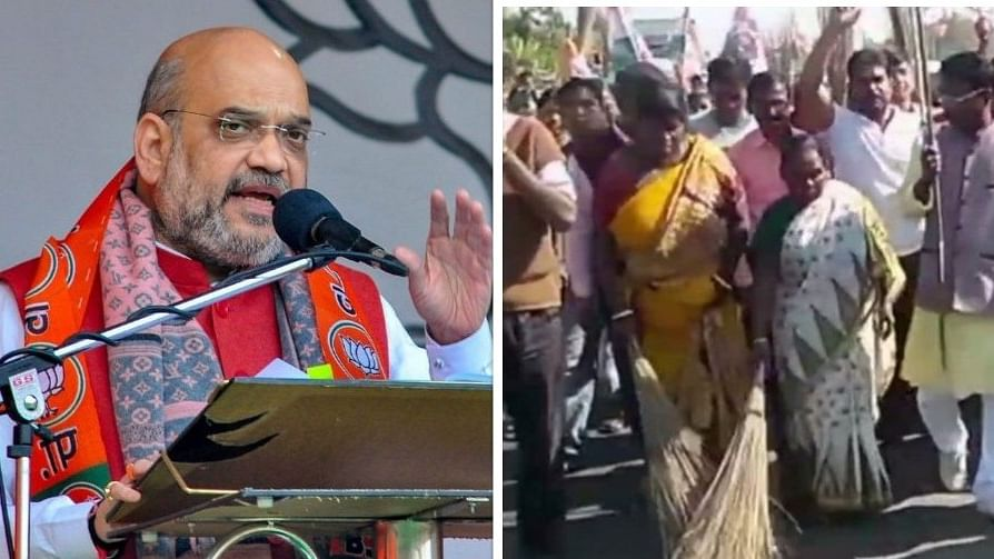 पश्चिम बंगाल: जिस मैदान पर अमित शाह ने की थी रैली, उसका टीएमसी कार्यकर्ताओं ने गंगाजल से किया शुद्धीकरण