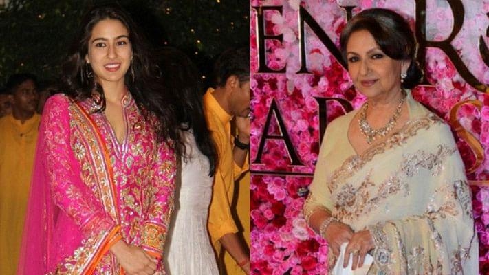 पोती सारा अली खान के आत्मविश्वास और विनम्रता से प्रभावित हैं दादी  शर्मिला टैगोर