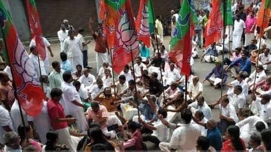 सबरीमाला विवाद से नहीं मिला बीजेपी को फायदा, निकाय चुनाव में पार्टी को मिली करारी हार