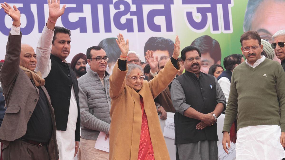 शीला दीक्षित ने 20 साल बाद फिर संभाली दिल्ली कांग्रेस की कमान, कार्यकर्ताओं में जबरदस्त जोश