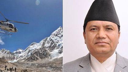 नेपाल में हेलीकॉप्टर क्रैश, पर्यटन मंत्री समेत 6 लोगों की मौत