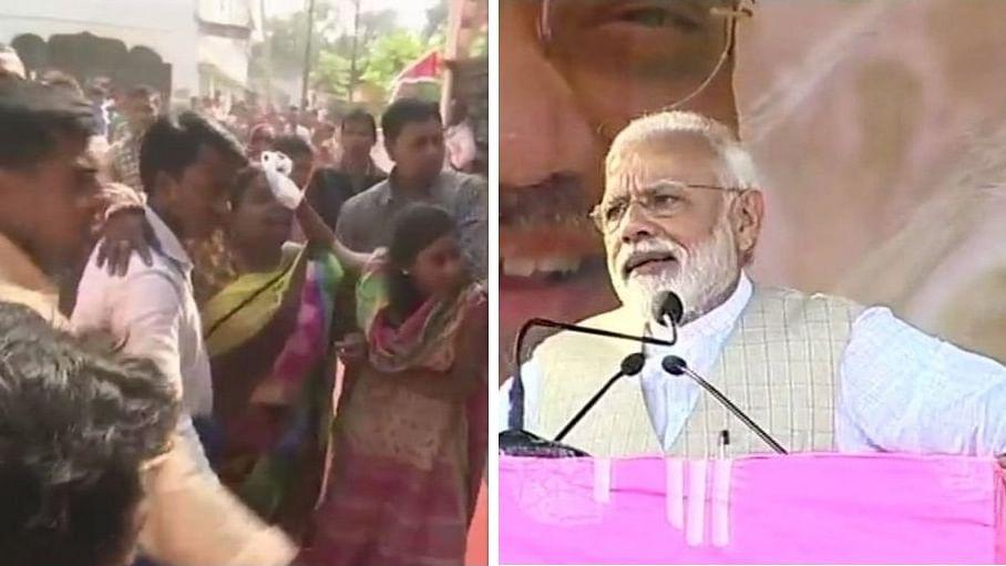 पश्चिम बंगाल: जब रैली में मची भगदड़ तो 14 मिनट में भाषण करके चलते बने पीएम मोदी, बाद में मांगी माफी, कई लोग हुए घायल