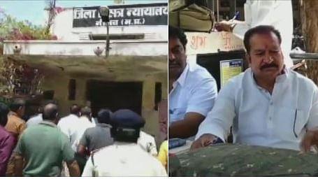 मध्य प्रदेश में बीजेपी को बड़ा झटका,  आदर्श आचार संहिता के उल्लंघन के आरोप में नीमच से बीजेपी विधायक गिरफ्तार