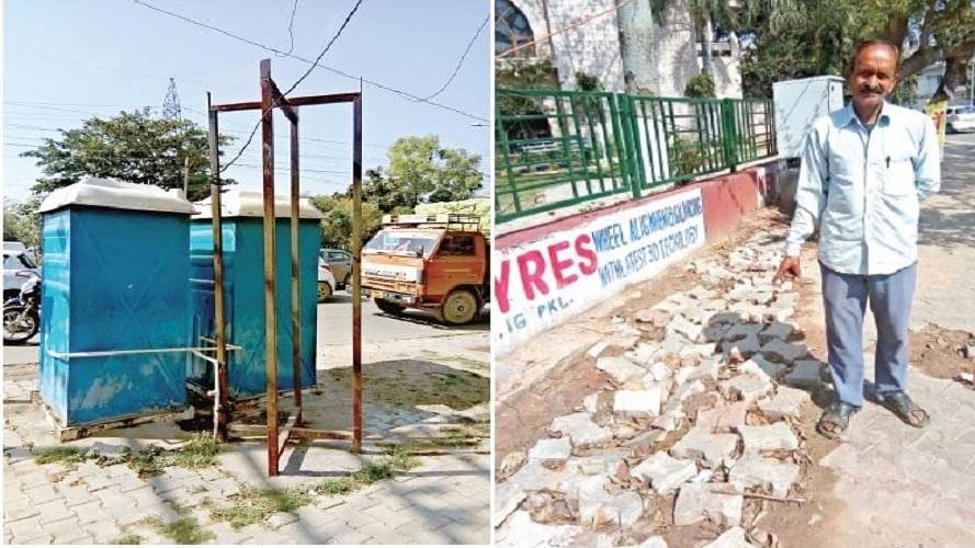 हरियाणा में भी पीएम मोदी का सफाई अभियान साफ, पंचकूला के चौराहों पर लगे टॉयलेट बता रहे हाल