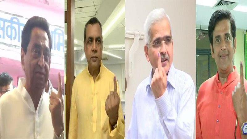 लोकसभा चुनाव: चौथे चरण की 72 सीटों पर मतदान जारी, बॉलीवुड हस्तियों समेत इन दिग्गजों ने डाला वोट
