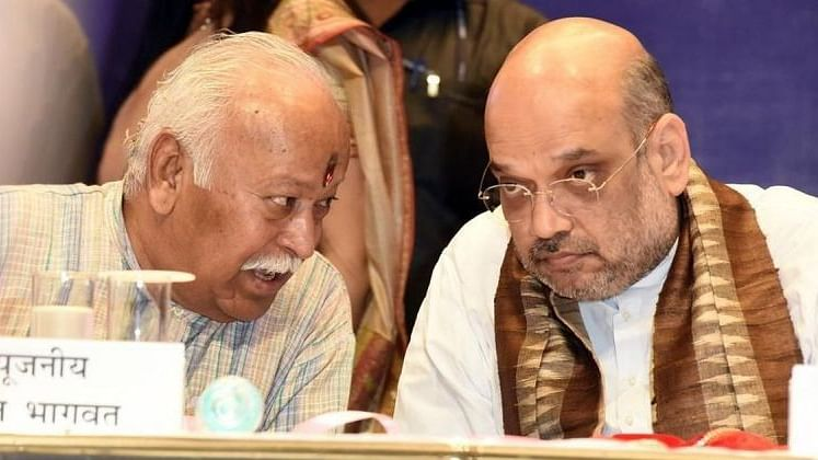 बीजेपी में ब्राह्मणों की अनदेखी से संघ नाराज, अमित शाह को कड़ा संदेश भेजकर कहा, 'देश भर में होगा इसका असर'