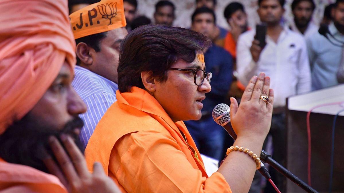 बीजेपी की प्रज्ञा सिंह ठाकुर पर चला चुनाव आयोग का डंडा, प्रचार पर लगी 72 घंटे की रोक