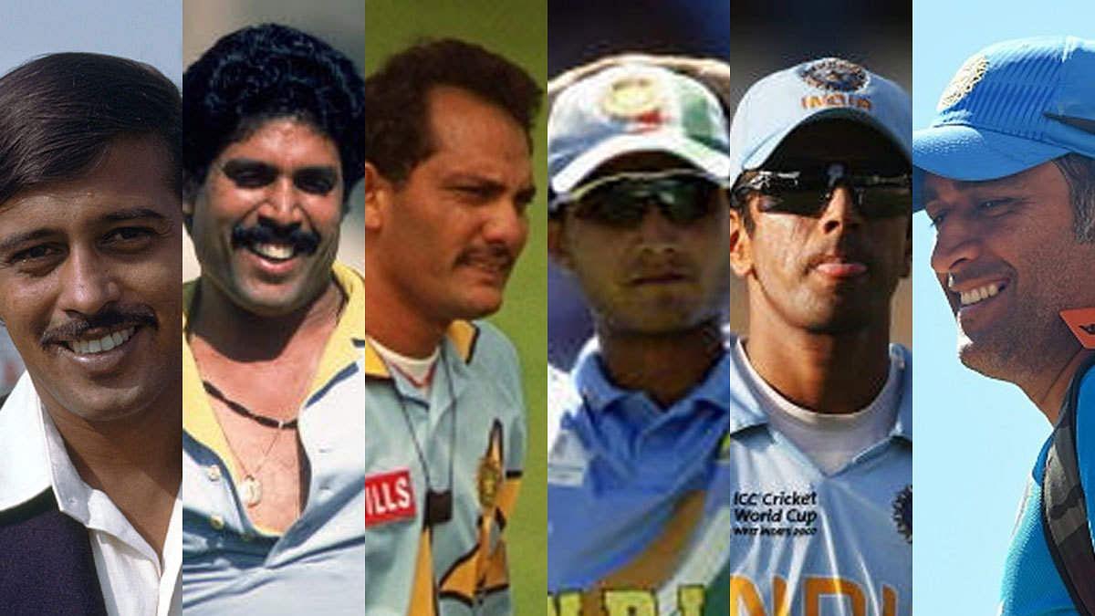 वर्ल्ड कप 2019: कपिल देव और एमएस धोनी समेत ये दिग्गज कप्तान कर चुके हैं विश्व कप में टीम इंडिया की अगुवाई