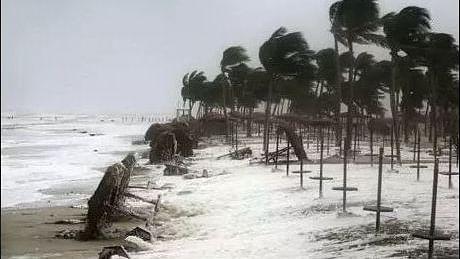 ओडिशा के तट से टकराने से पहले 'फानी' तूफान का असर, तटीय इलाकों में भारी बारिश शुरू, अलर्ट पर सरकारें