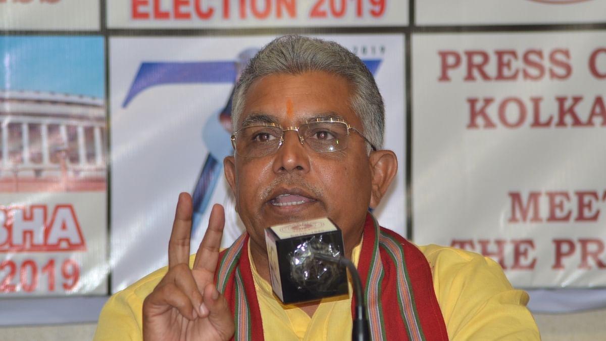 बंगाल बीजेपी अध्यक्ष दिलीप घोष का 'निजी सहायक' 1 करोड़ रुपये के साथ गिरफ्तार