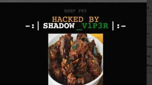 नरेंद्र मोदी के शपथ ग्रहण के समय दिल्ली बीजेपी की वेबसाइट हैक, बीजेपी को बनाया 'बीफ पार्टी'