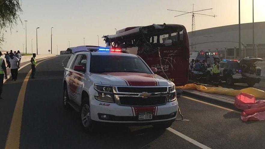 दुबई में दर्दनाक बस हादसा, 8 भारतीयों की हुई मौत, हादसे में बस में सवार 17 लोगों की गई जान