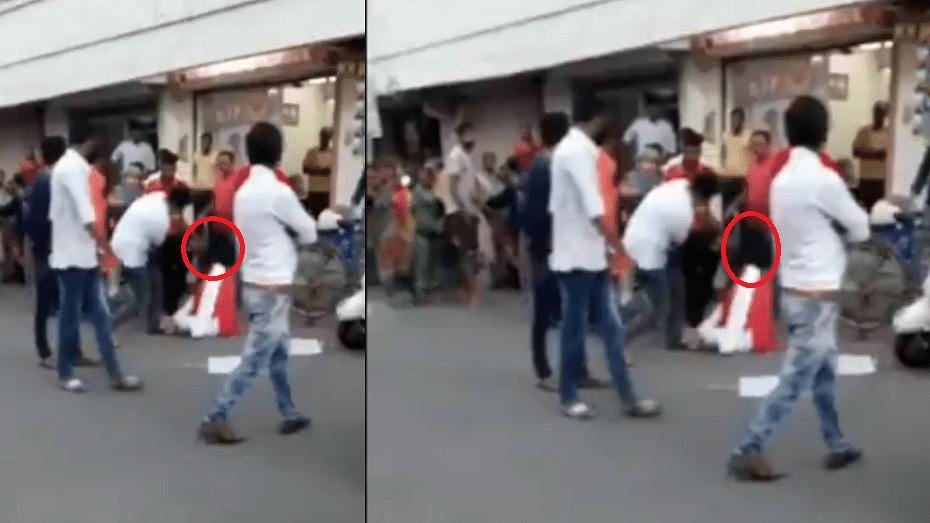 पीएम मोदी के गुजरात में बीजेपी विधायक की गुंडागर्दी, बीच सड़क पर महिला पर बरसाए लात-घूंसे, वीडियो वायरल