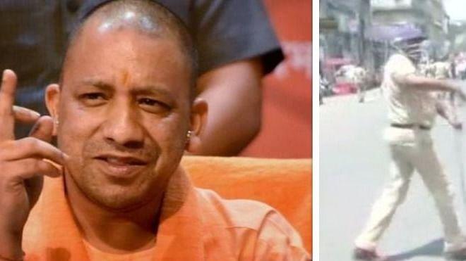 'योगी'राज में  अपराधी बेलगाम, लेकिन आम लोगों पर पुलिसिया कहर, लखनऊ, मेरठ और सीतापुर में लाठीचार्ज