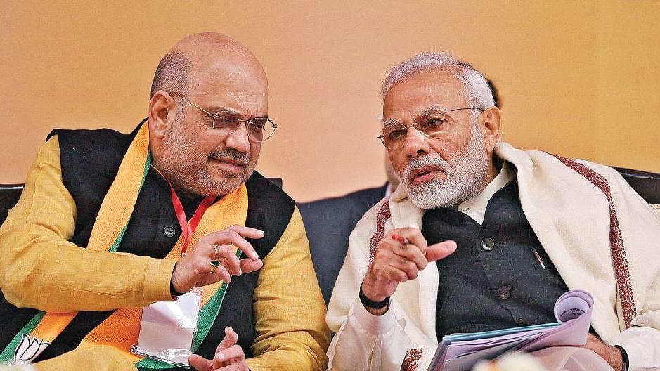 मोदी के बाद 'वन टू टेन' तक अमित शाह ही हैं सरकार, संघ की सलाह की भी अब नहीं  है कोई हैसियत