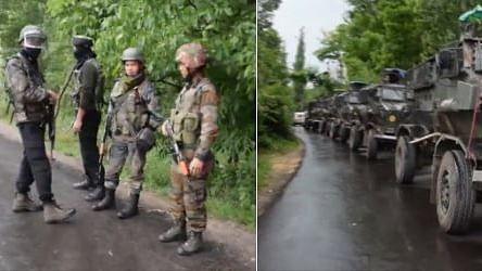 जम्मू-कश्मीर: शोपियां मुठभेड़ में सुरक्षा बलों चार आतंकियों को किया ढेर, इलाके में तलाशी अभियान जारी