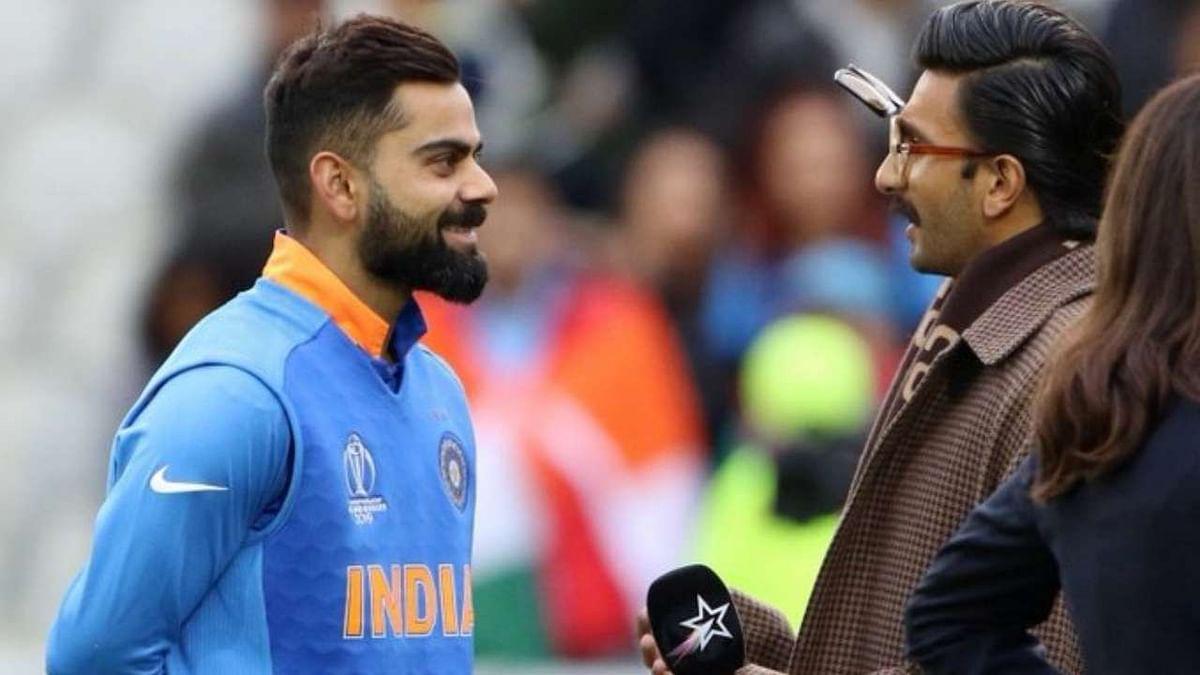 पाकिस्तान के खिलाफ जीत के बाद रणवीर सिंह ने की विराट कोहली की तारीफ, कहा- हमें आप पर गर्व है कप्तान