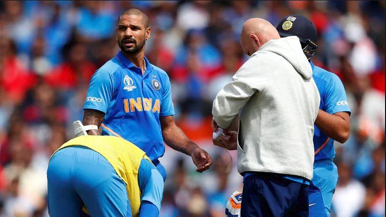 वर्ल्ड कप में टीम इंडिया को बड़ा झटका, फॉर्म में चल रहे शिखर धवन पूरे टूर्नामेंट से बाहर, पंत को मिला मौका