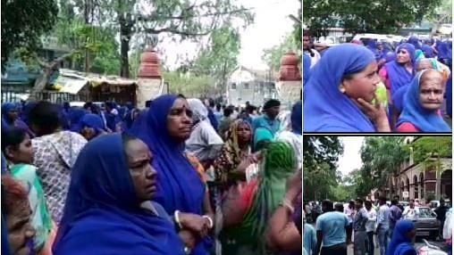 मध्य प्रदेश: अपने विधायक की गुंडागर्दी से बैकफुट पर बीजेपी, अफसर की पिटाई से नाराज निगम कर्मचारियों का प्रदर्शन