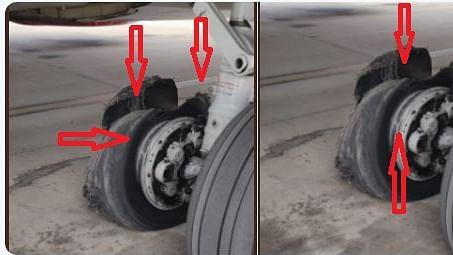वीडियो: बाल-बाल बची 189 यात्रियों की जान, जयपुर में इमरजेंसी लैंडिंग के दौरान फटा विमान का टायर, निकली चिंगारी