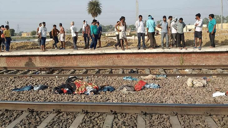 गर्मी से परेशान रेल यात्री उतरे थे ट्रैक पर, दूसरी तरफ से आ रही राजधानी की चपेट में आए, 4 की मौत, 6 घायल