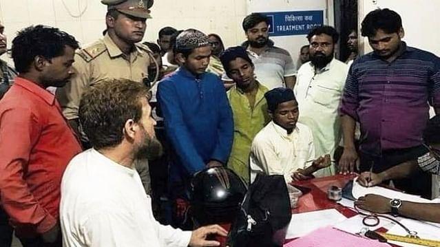 यूपी में 'जय श्री राम' के नाम पर हिंसा जारी, योगी सरकार में  मदरसे के छात्रों के साथ  मारपीट, फाड़े कपड़े