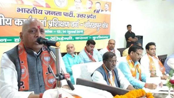 पार्टी विचारधारा से भटके तो हश्र होगा आडवाणी जैसा,  ट्रेनिंग कैम्प में संघ-बीजेपी दे रही कार्यकर्ताओं को सलाह