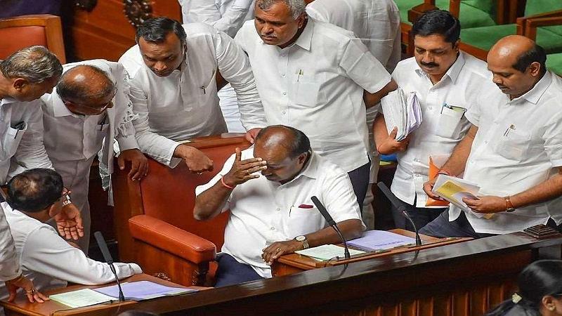 कर्नाटक: राजनीतिक उथल-पुथल के बीच विधानसभा में आज होगा शक्ति परीक्षण