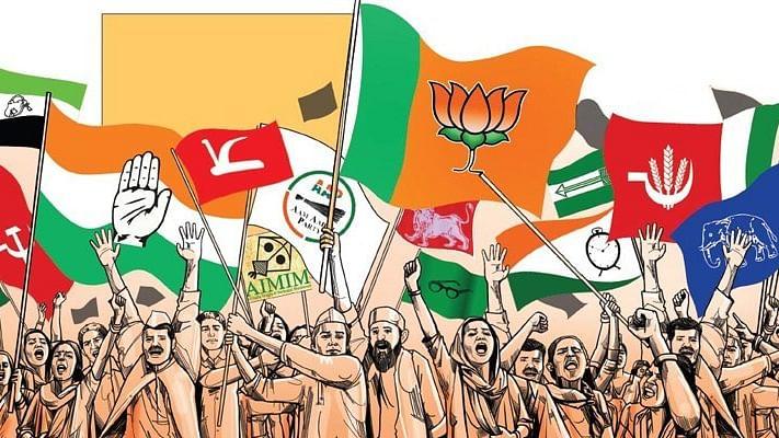 आकार पटेल का लेख: अमेरिका-ब्रिटेन की तरह किसी भी राजनीतिक दल में अंदरूनी लोकतंत्र नहीं है भारत में