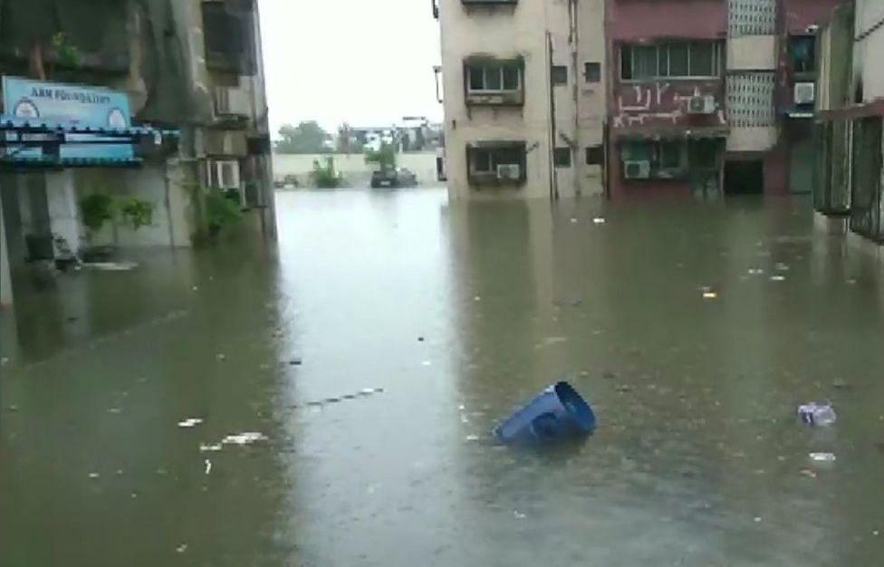 तस्वीरों में देखें बारिश से बेहाल मुंबई, सड़कों पर गाड़ियों की जगह मछलियां, एयरपोर्ट और रेलवे ट्रैक भी डूबा
