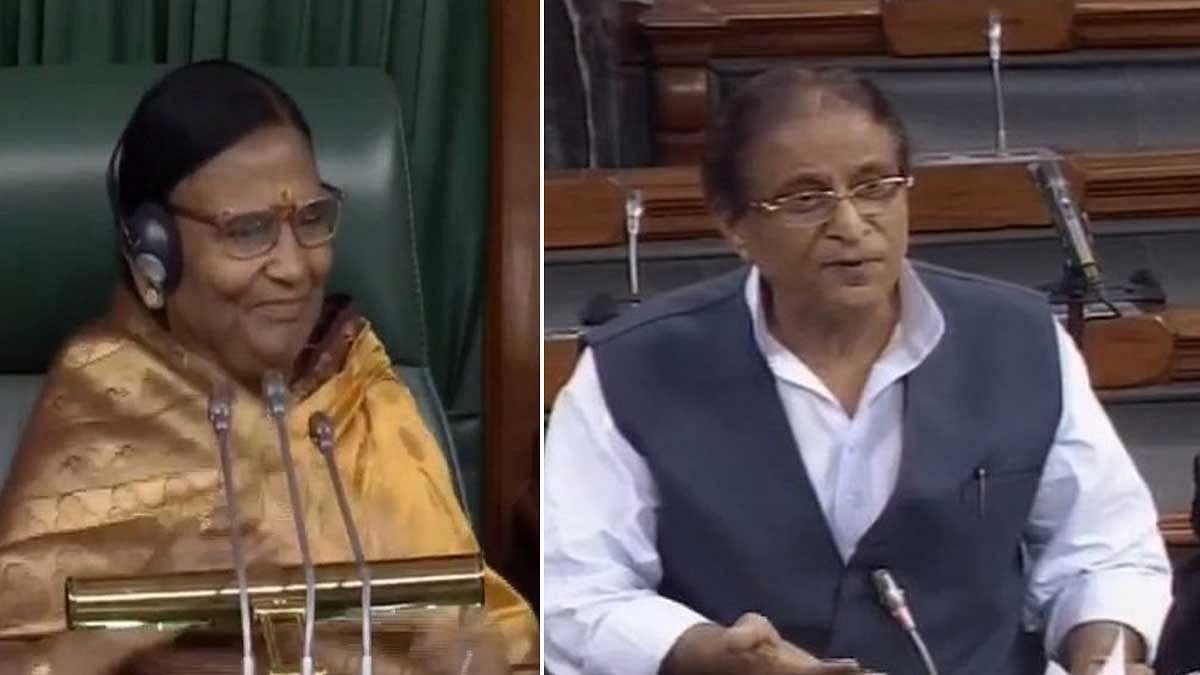 आजम के आंखों वाले बयान को बीजेपी ने बताया गुस्ताखी तो इस्तीफे की बात कहकर सदन से चले गए एसपी सांसद