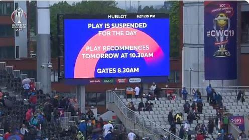 बारिश में धुला भारत-न्यूजीलैंड मैच, अब कल होगा खेल, न्यूजीलैंड 211/5 से आगे शुरु करेगा बल्लेबाजी