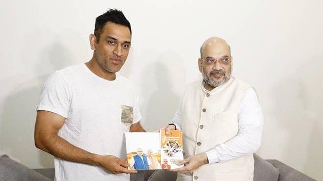 क्रिकेट के बाद राजनीतिक पारी शुरू करेंगे धोनी, बीजेपी नेता का दावा- बातचीत जारी