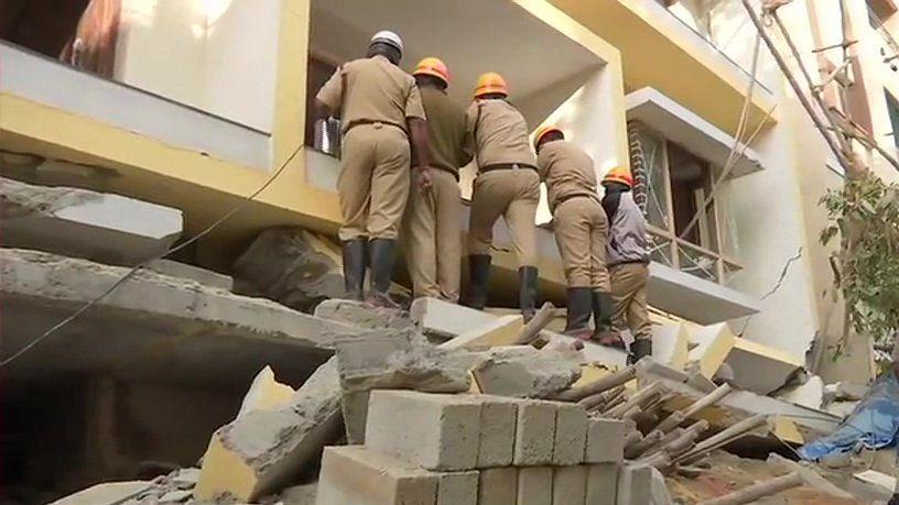 बेंगलुरु में निर्माणाधीन इमारत गिरने से हादसा, मरने वालों की संख्या हुई 4, कई घायल अस्पताल में भर्ती